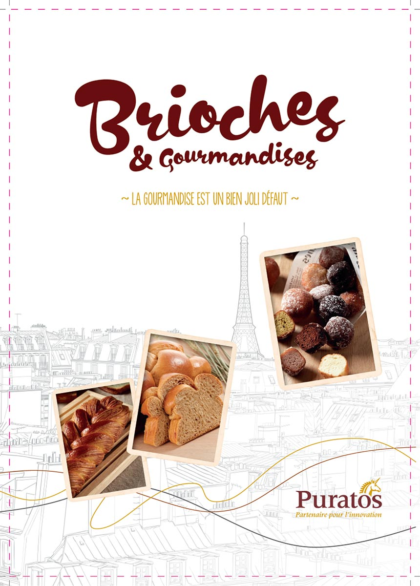 Cahier recettes brioches & gourmandises